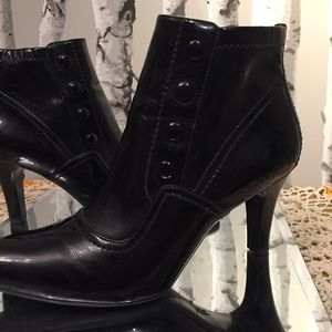 Franco Sarto Leather Ankle Boot